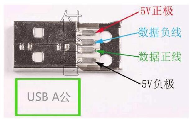 micro usb接線圖